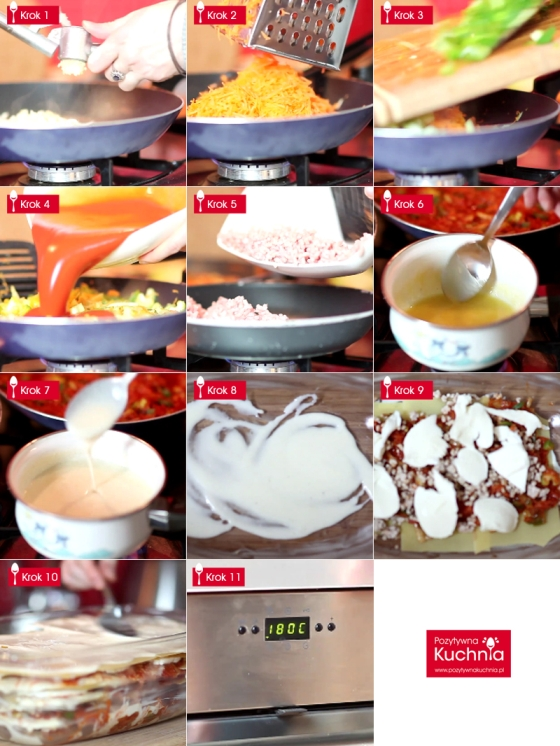 Jak zrobić lasagne - krok po kroku
