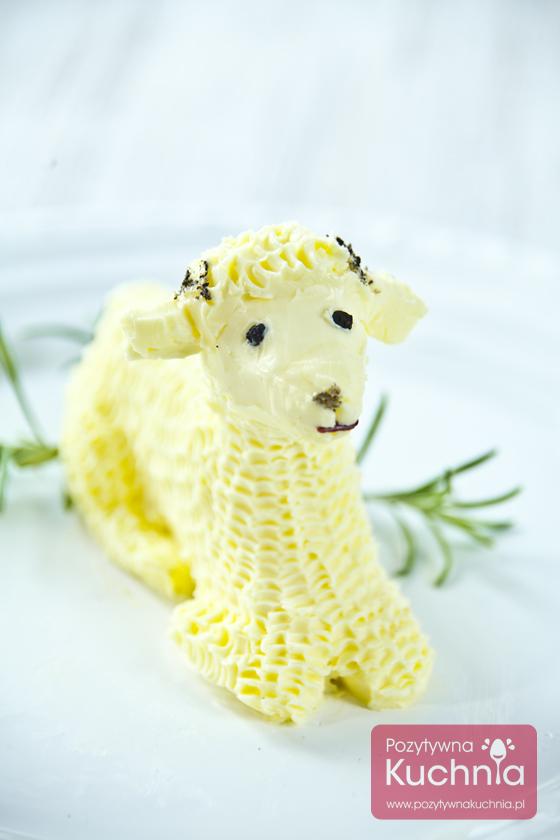 Wielkanocny baranek z masła