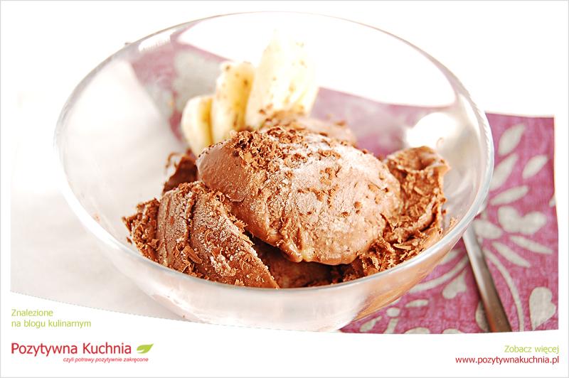 Lody bananowo-czekoladowe
