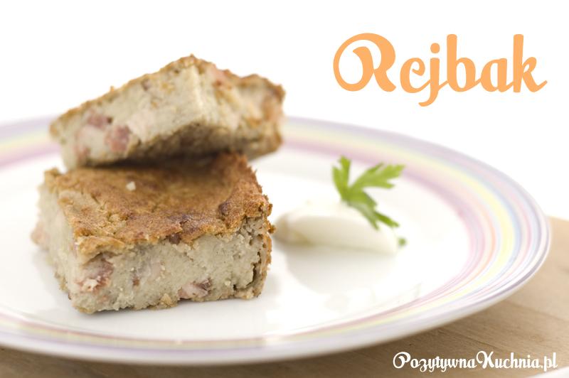 Rejbak - placek pieczony z surowych ziemniaków