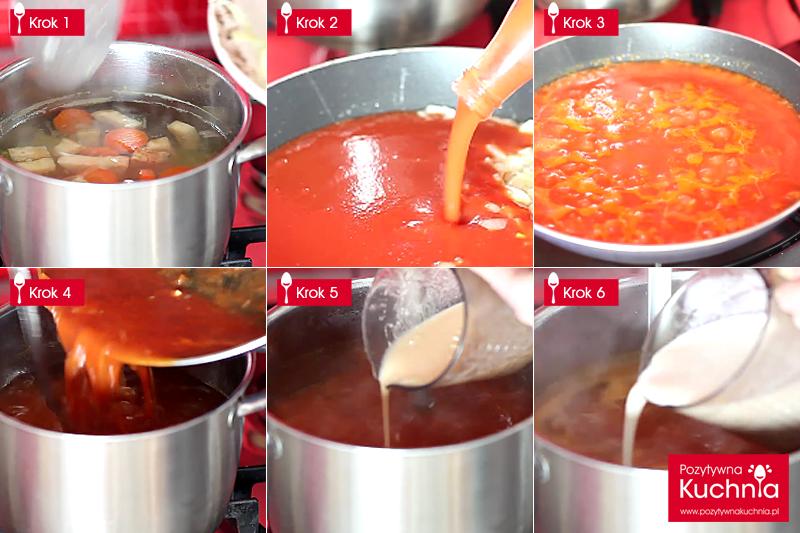 Jak zrobić zupę pomidorową - krok po kroku