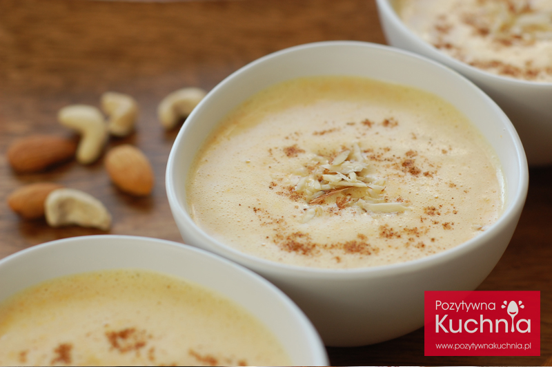 Zupa mleczna z marchewką