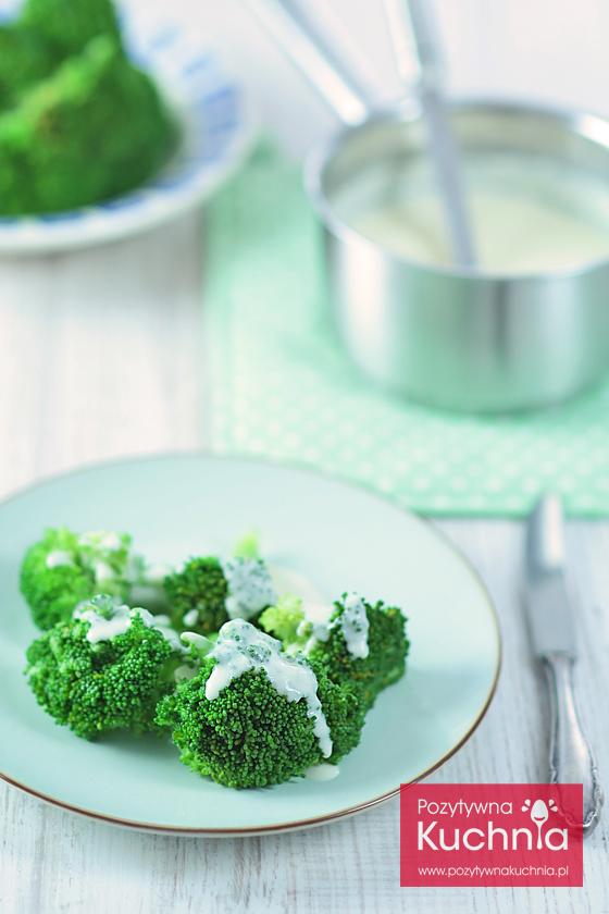 Gotowany brokuł