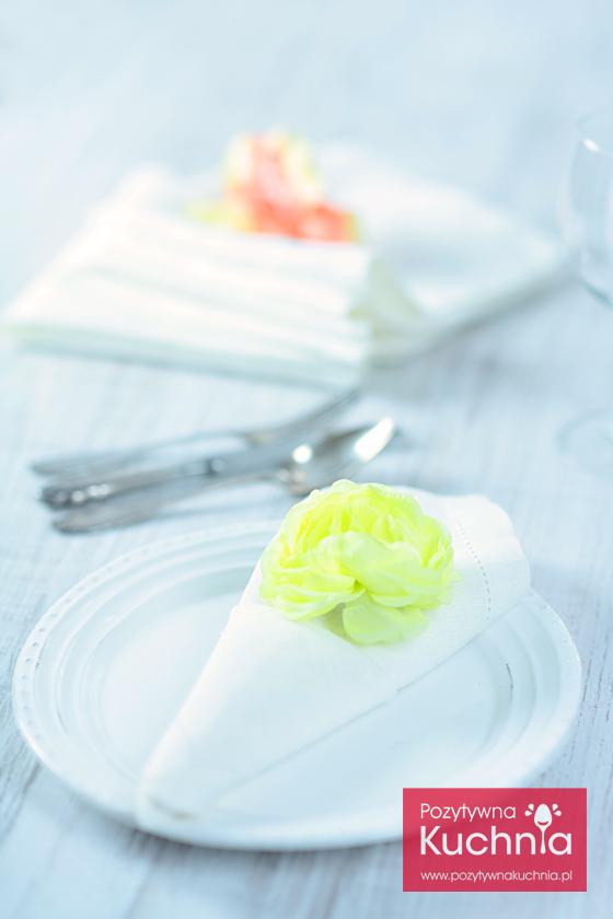 Serwetka - rożek z kieszonką
