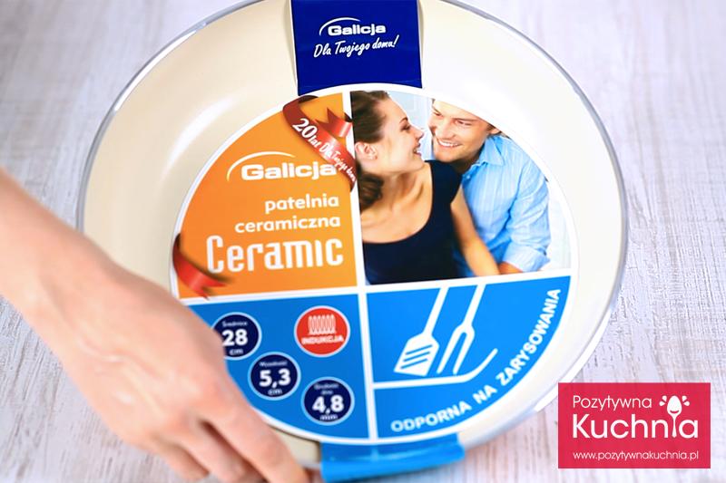 Patelnia ceramiczna Ceramic Galicja 28 cm