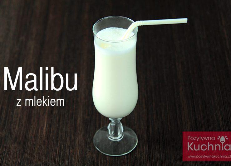Malibu z mlekiem