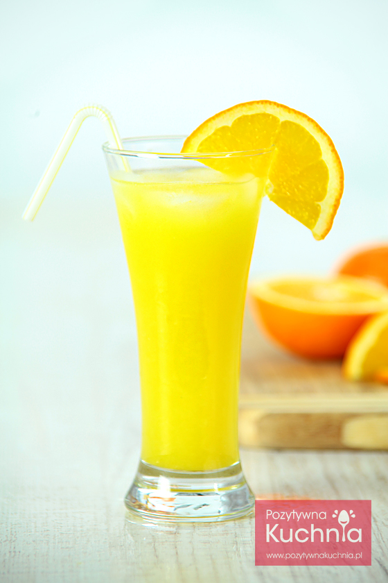 Wódka z sokiem pomarańczowym