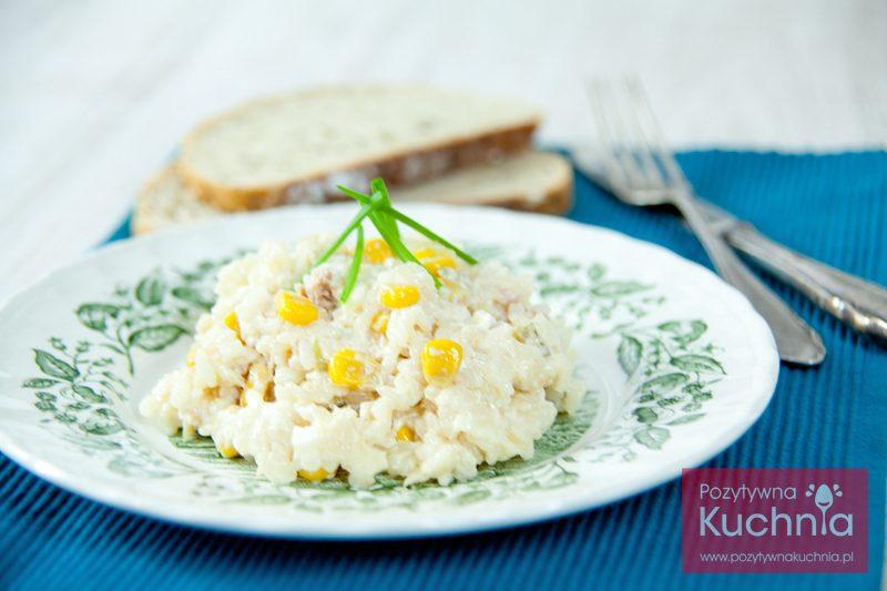 Sałatka z tuńczykiem i ryżem