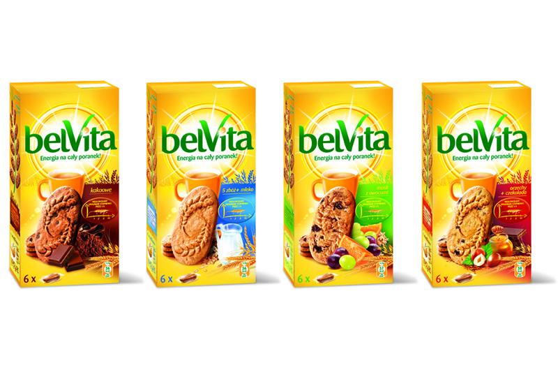 Ciastka BelVita w różnych smakach