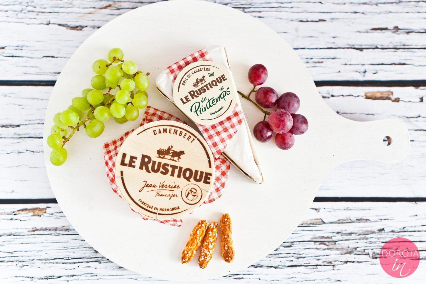 Ser pleśniowy Le Rustique - camembert i brie