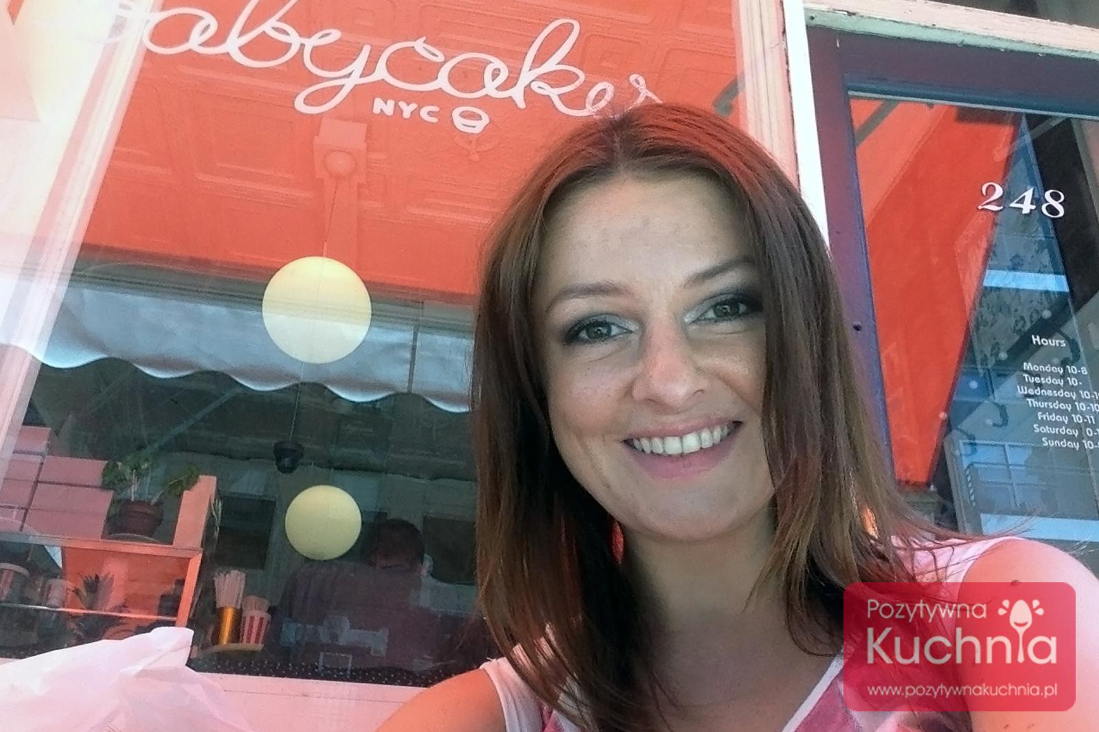 Dorota Kamińska w BabyCakes NYC