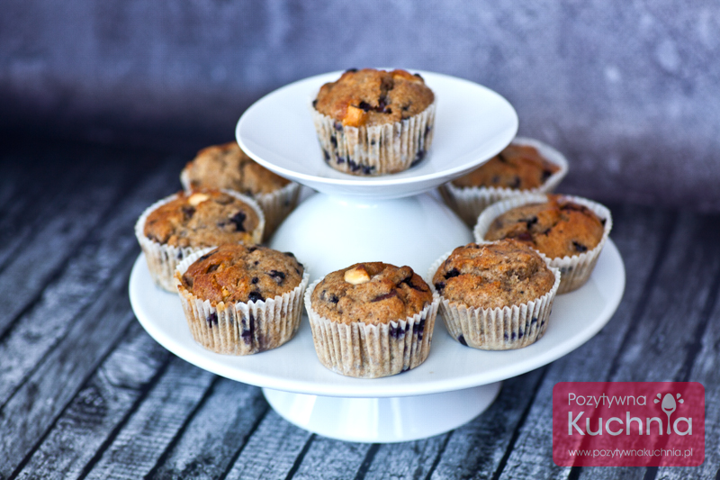 Muffiny z jagodami