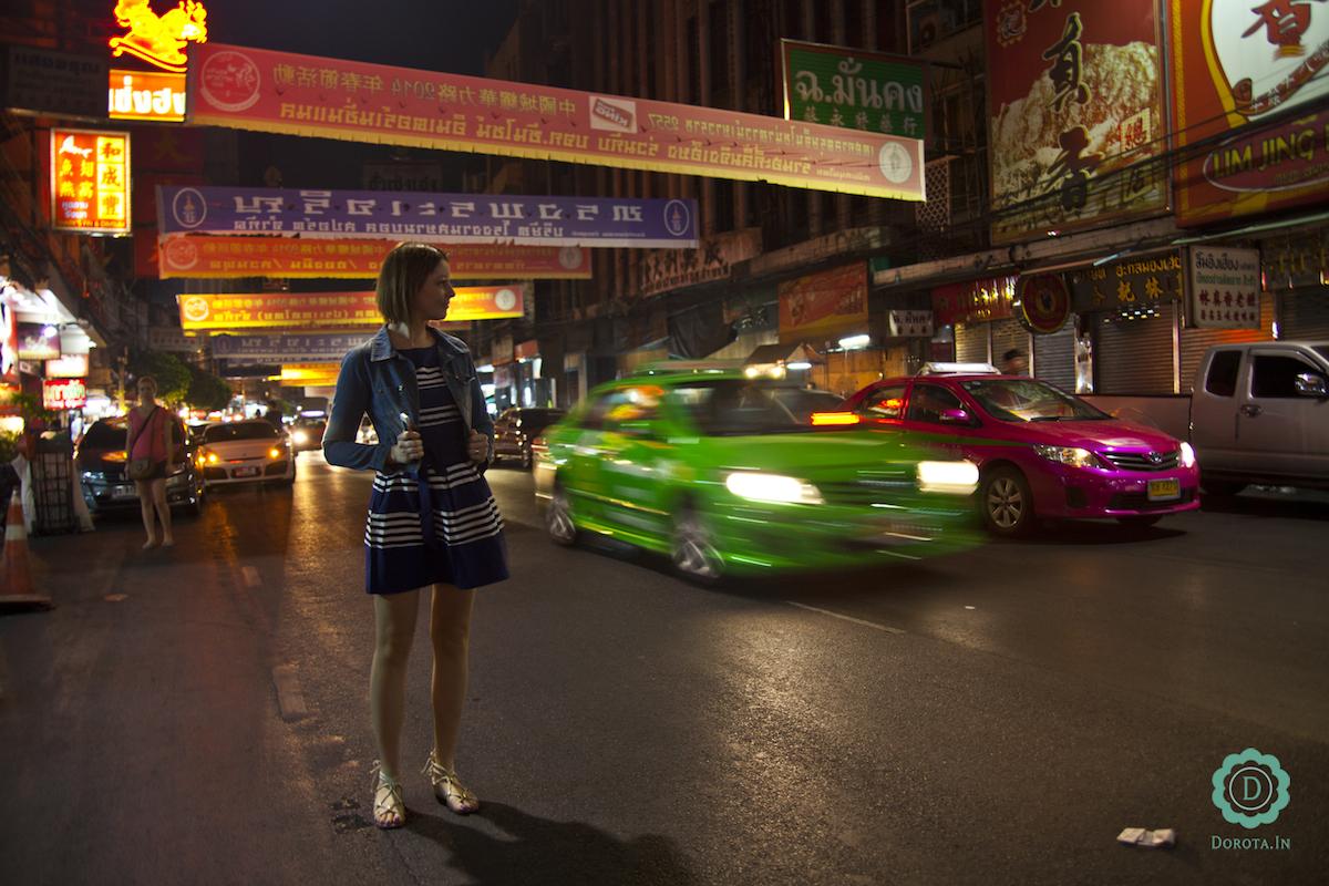 Chinatown w Bangkoku