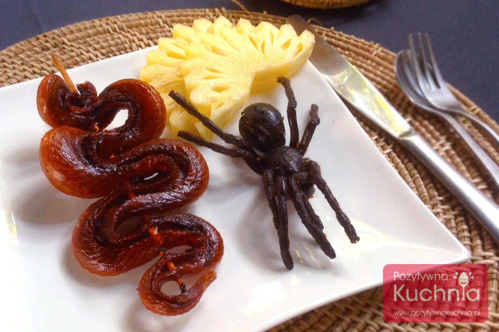Wąż i pająk - do zjedzenia w Kambodży