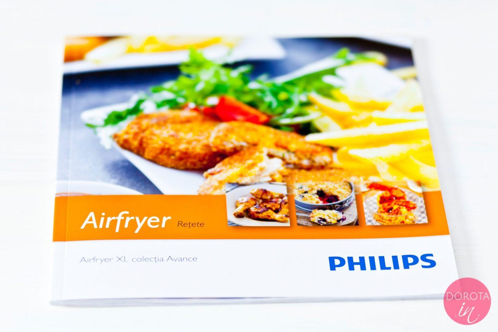 Książka kucharska Philips Airfryer
