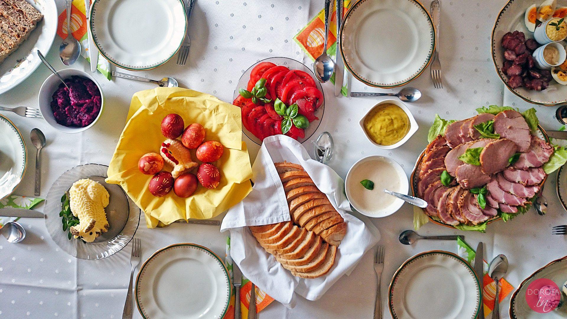 Potrawy na Wielkanoc w moim domu