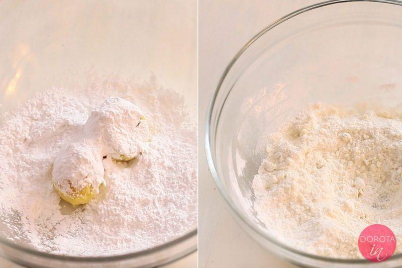 Ugniatanie ziemniaków z mąką