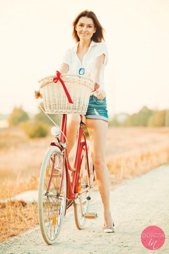 Najpiękniejszy czerwony rower na świecie!