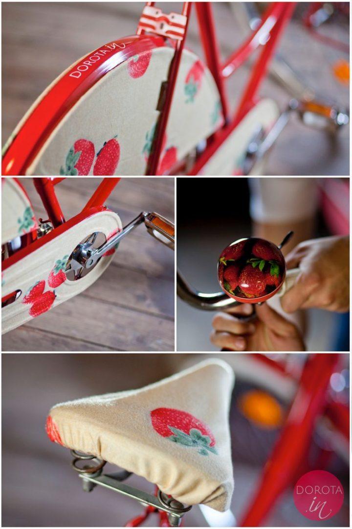 FABRICCUM - czerwone truskawki czyli piękne detale