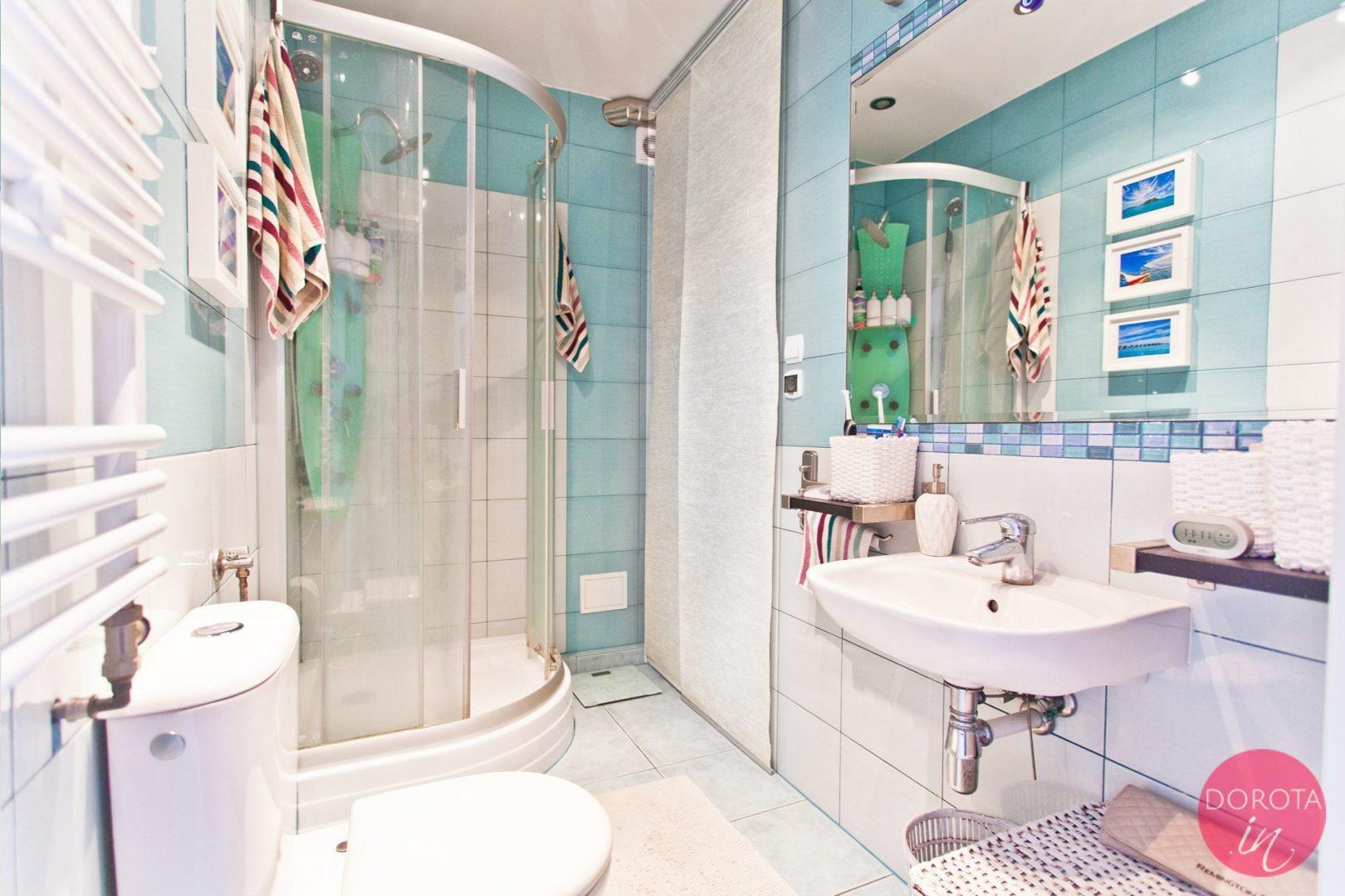 Metamorfoza łazienki Lifting Dodatki I Malowanie