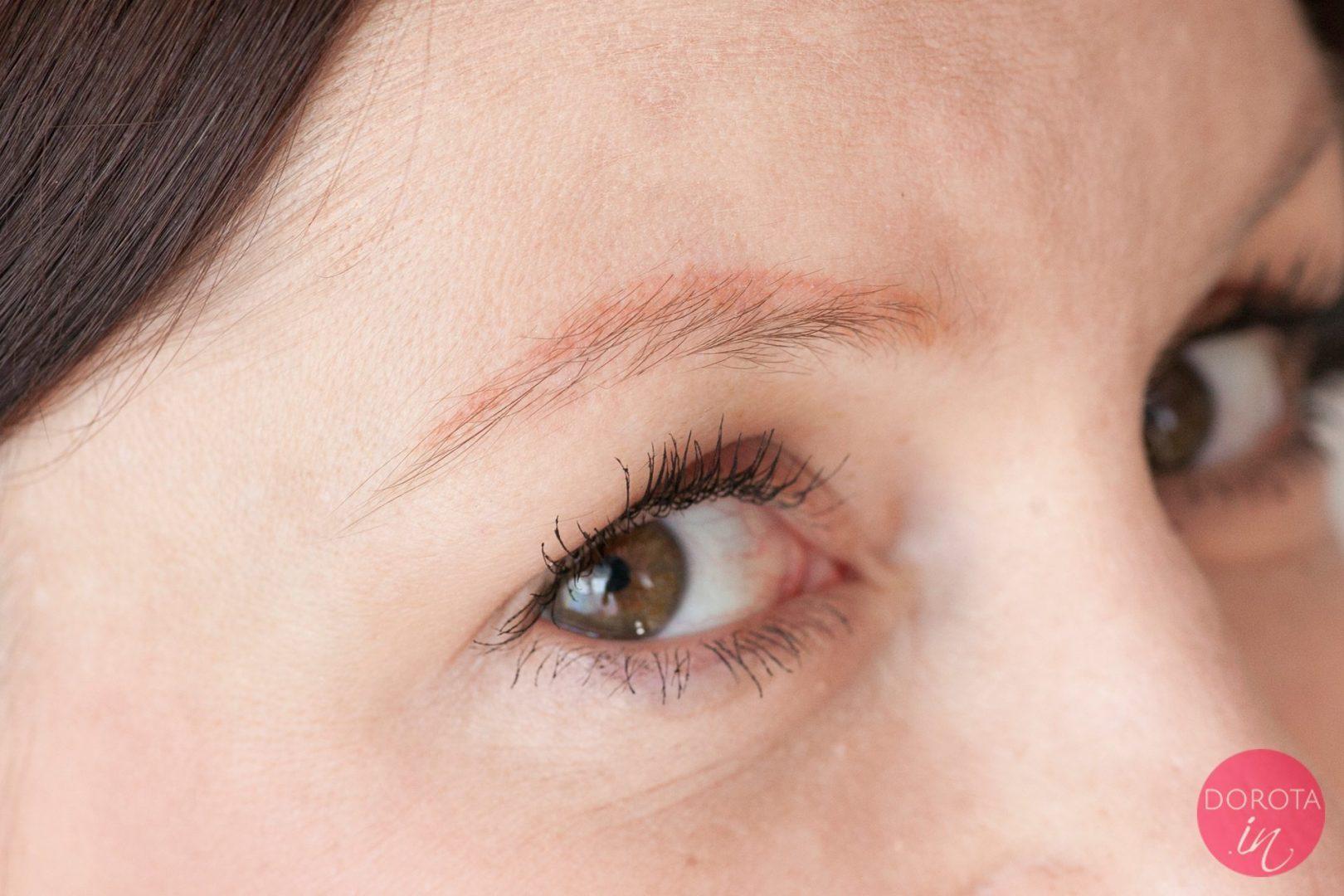 Makijaż permanentny brwi - nigdy więcej - 6 lat po | Dorota