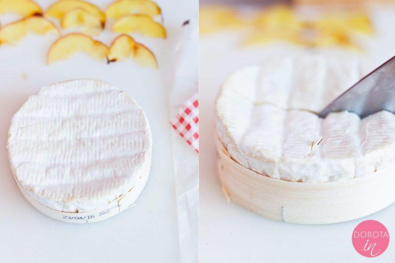 Ser pleśniowy pieczony - przepis - krok 2
