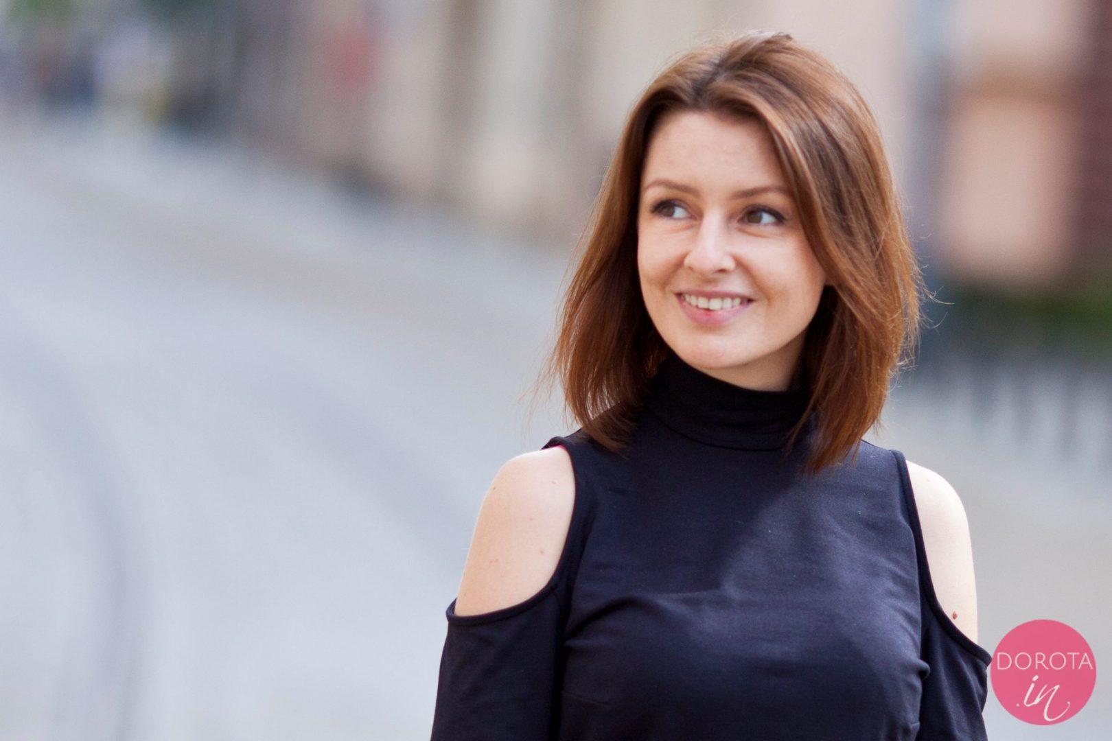 Średni bob - fryzura - Dorota Kamińska