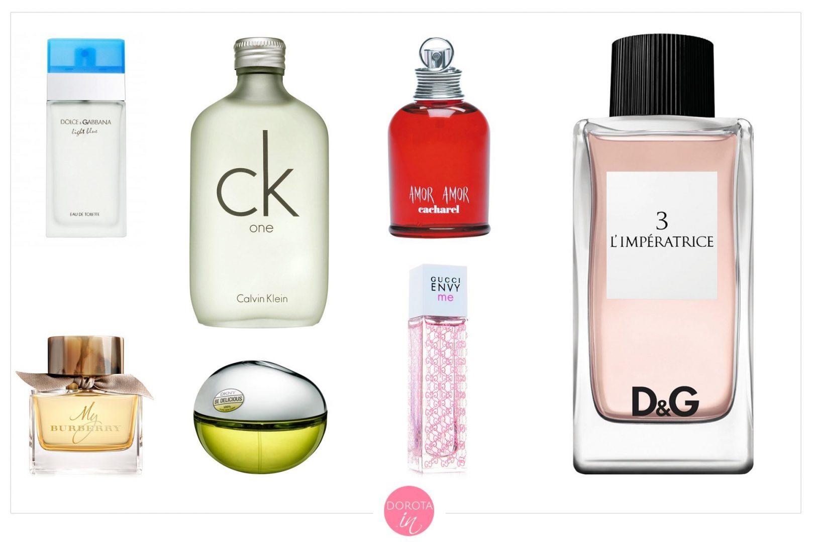Ulubione perfumy - lata '00