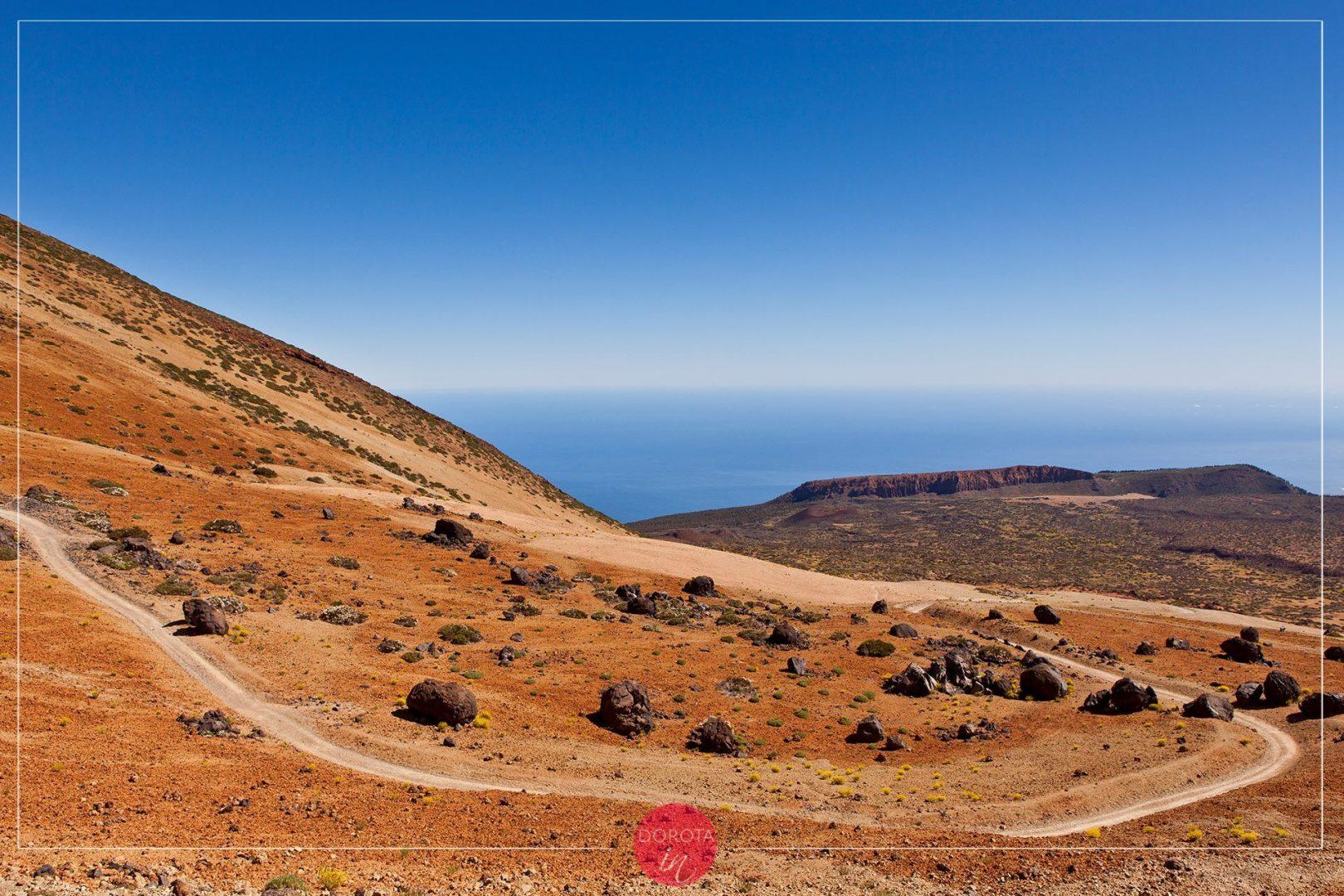 Wielkie głazy wyrzucone przez wulkan czyli El Teide Eggs