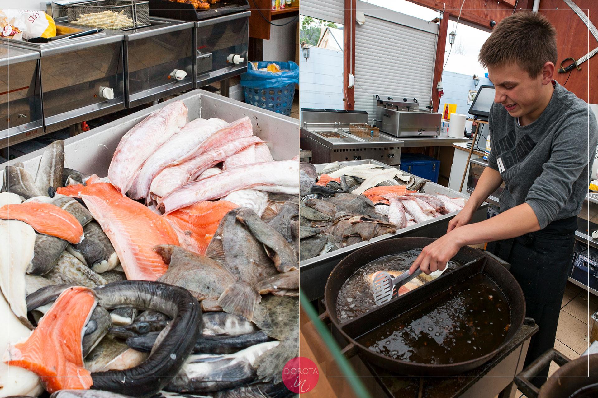 Doskonały wybór smażonych ryb
