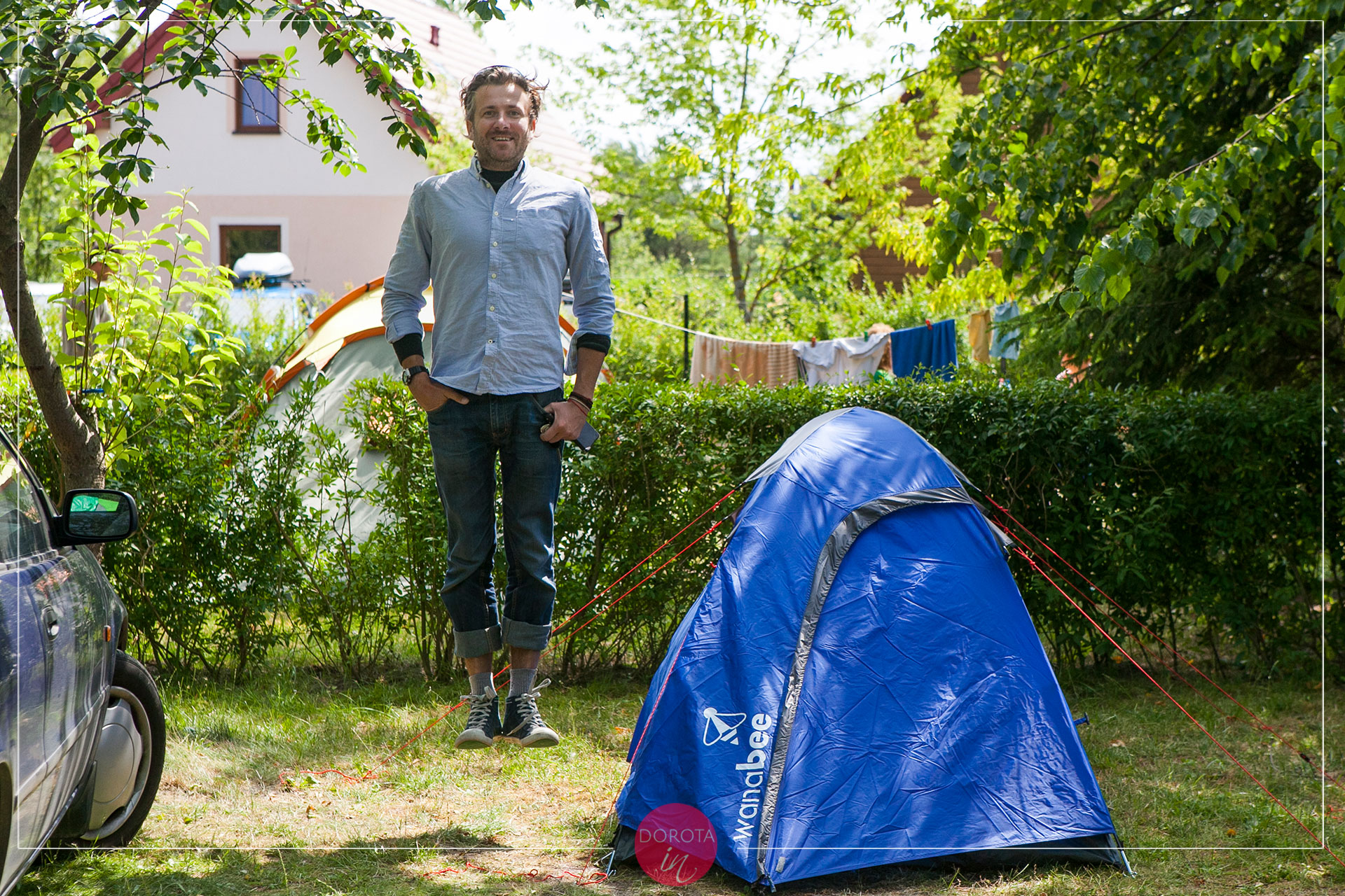 Oderwany namiot ;)