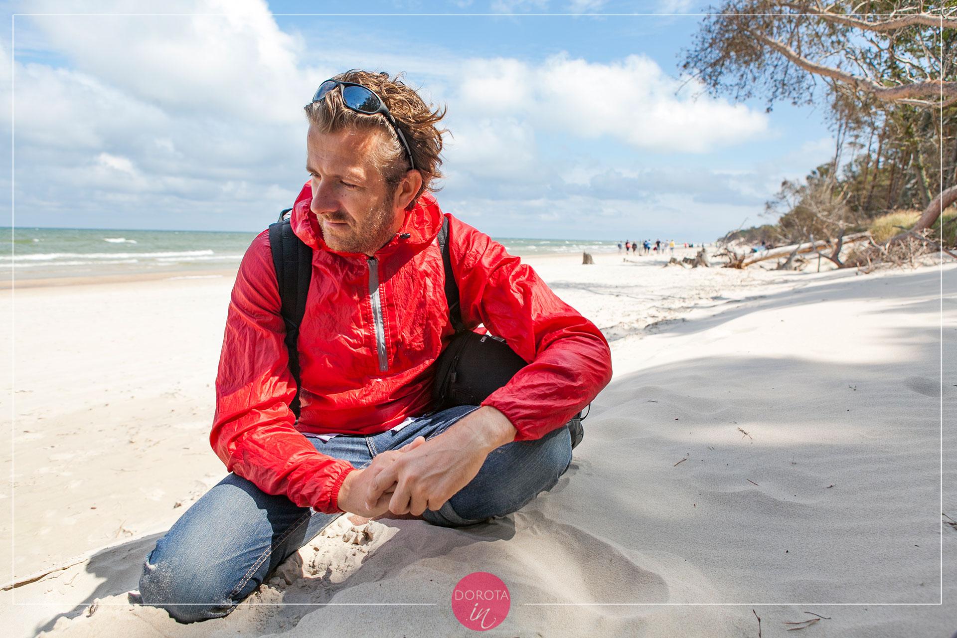 Oderwany na plaży :)