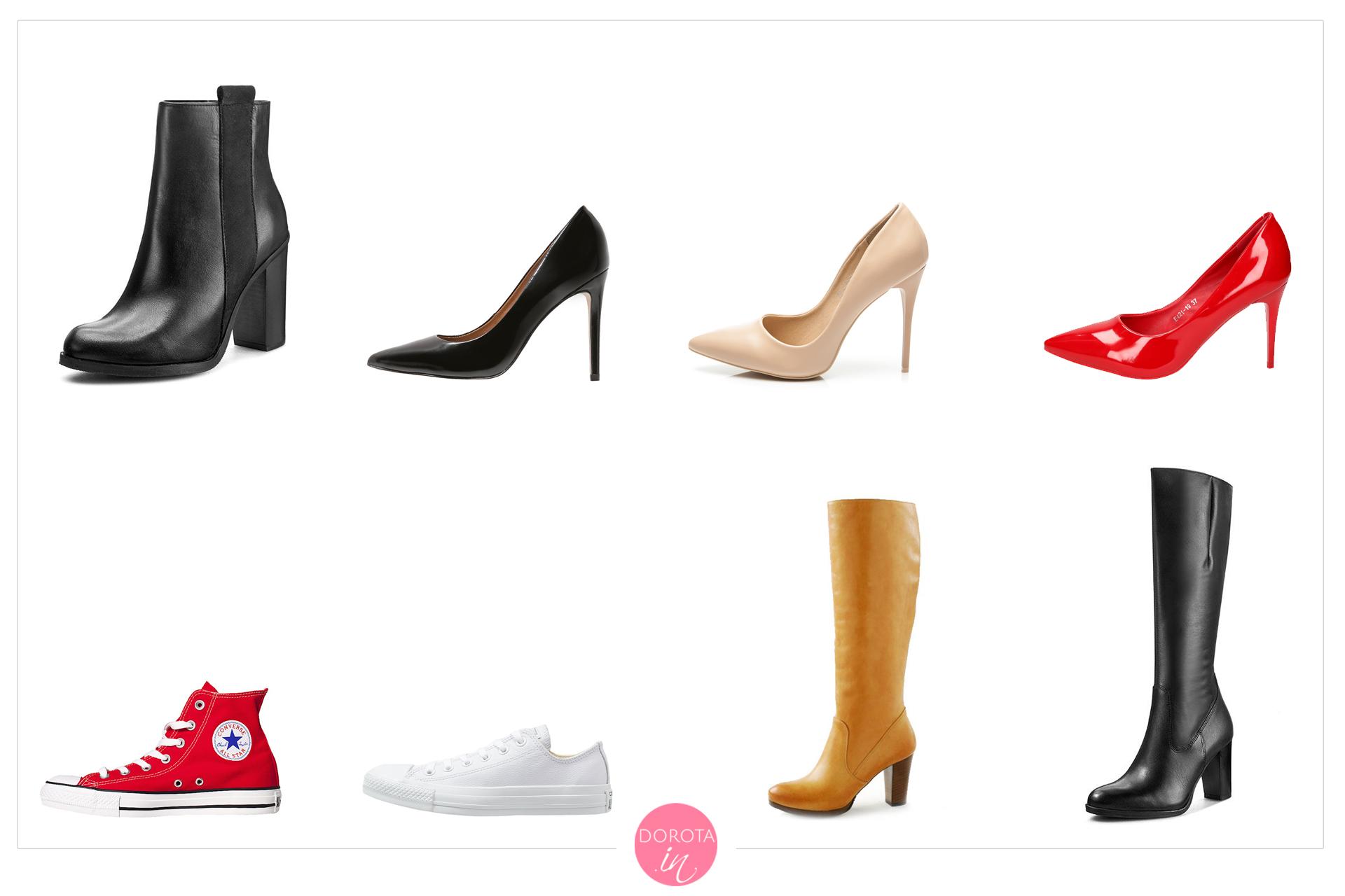 Buty na jesień - garderoba kapsułowa