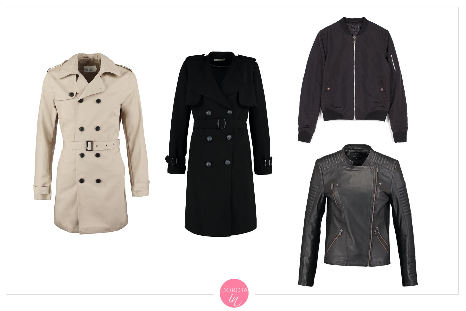 Płaszcze i kurtki na jesień