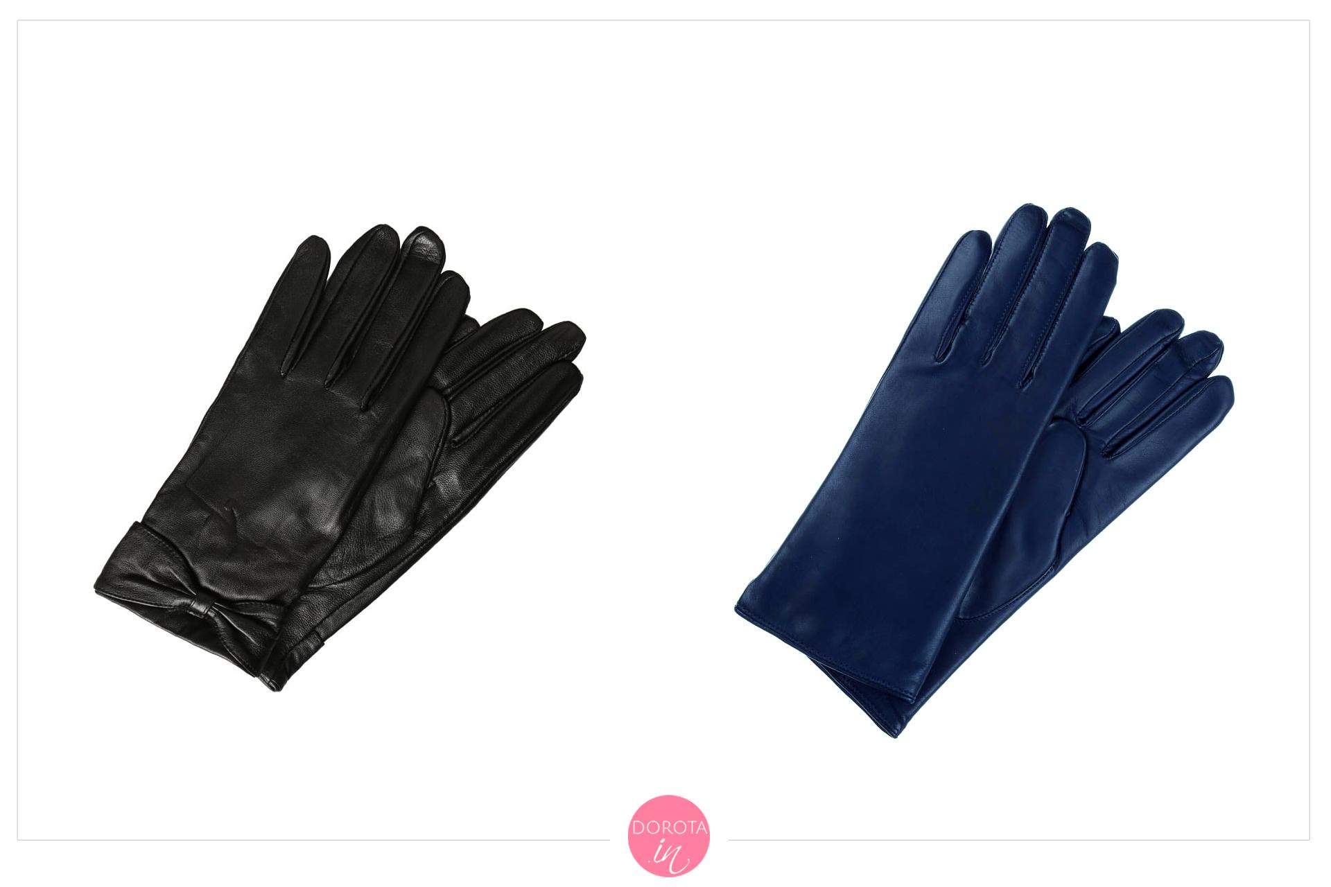 Rękawiczki na jesień