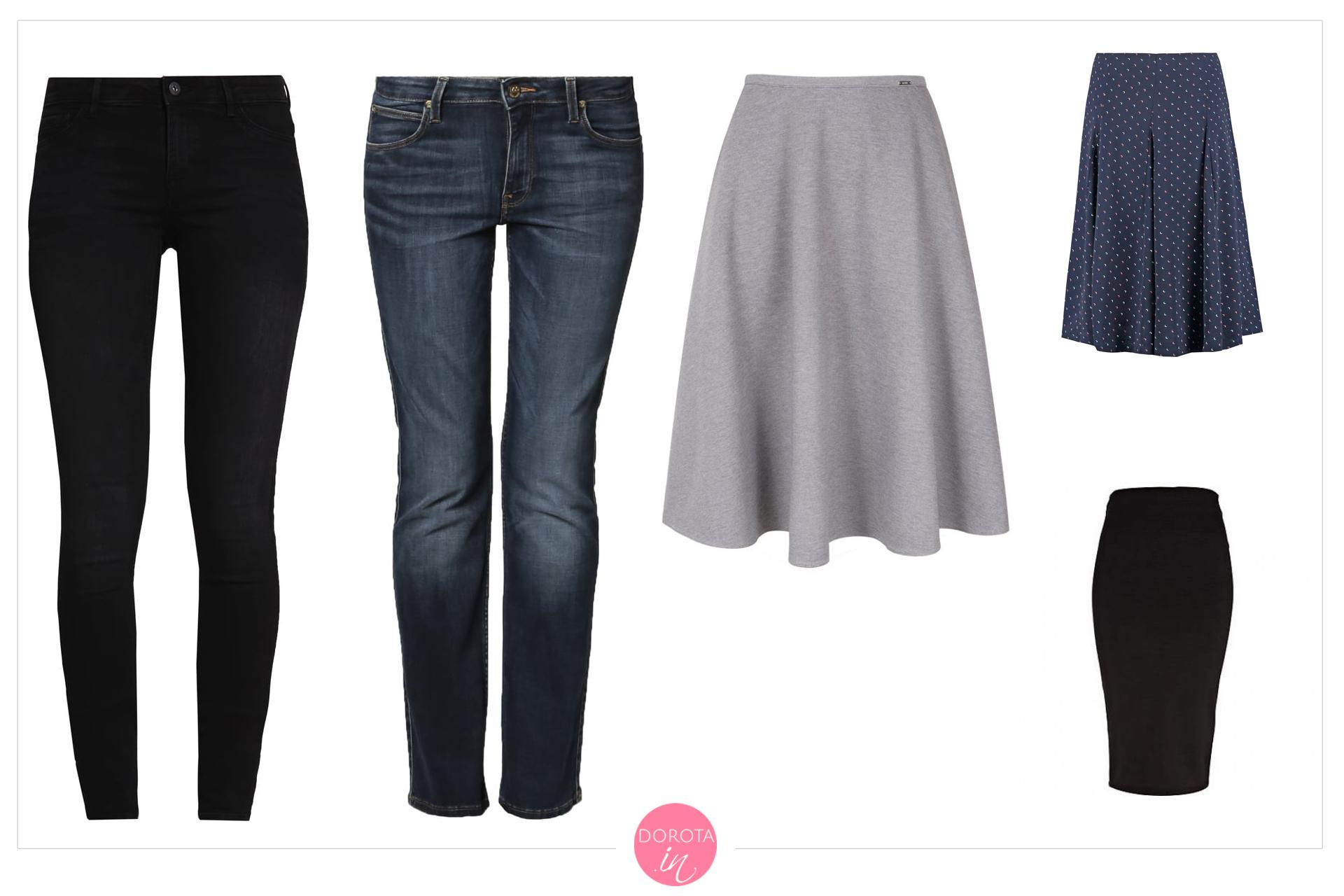 Spodnie i spódnice na jesień