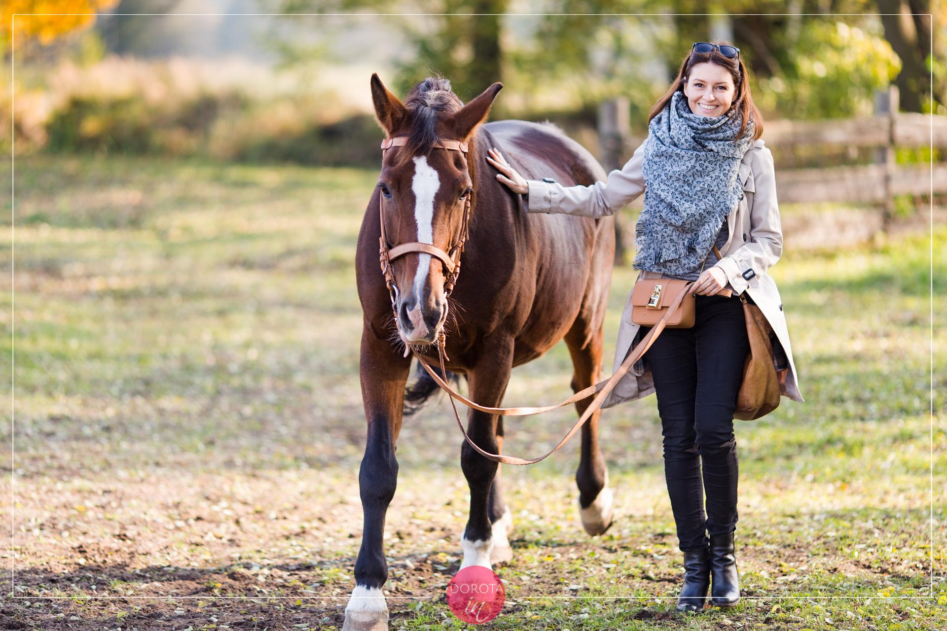 Dama z koniem ;)