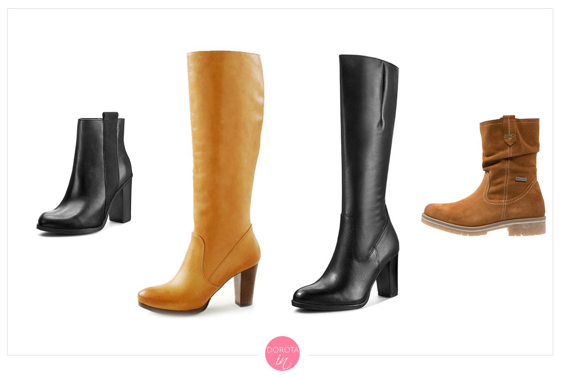 Buty na zimę - garderoba kapsułowa