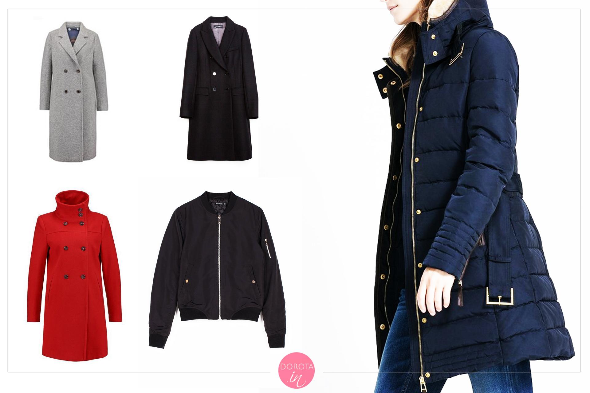 Płaszcze i kurtki na zimę - garderoba kapsułowa