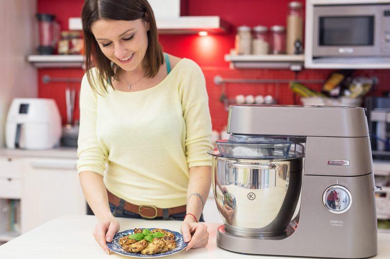 Kotlety z kalafiora - Kenwood Chef XL Titanium