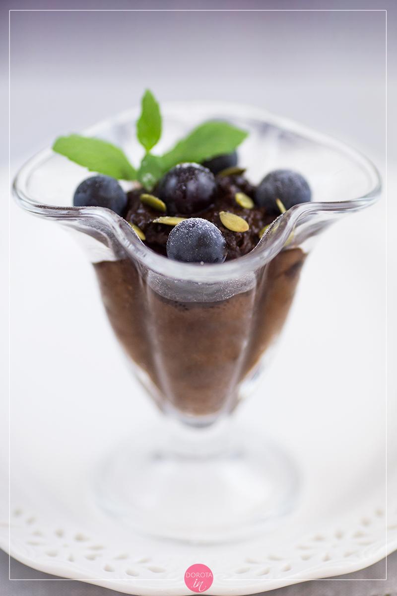Krem czekoladowy wegański