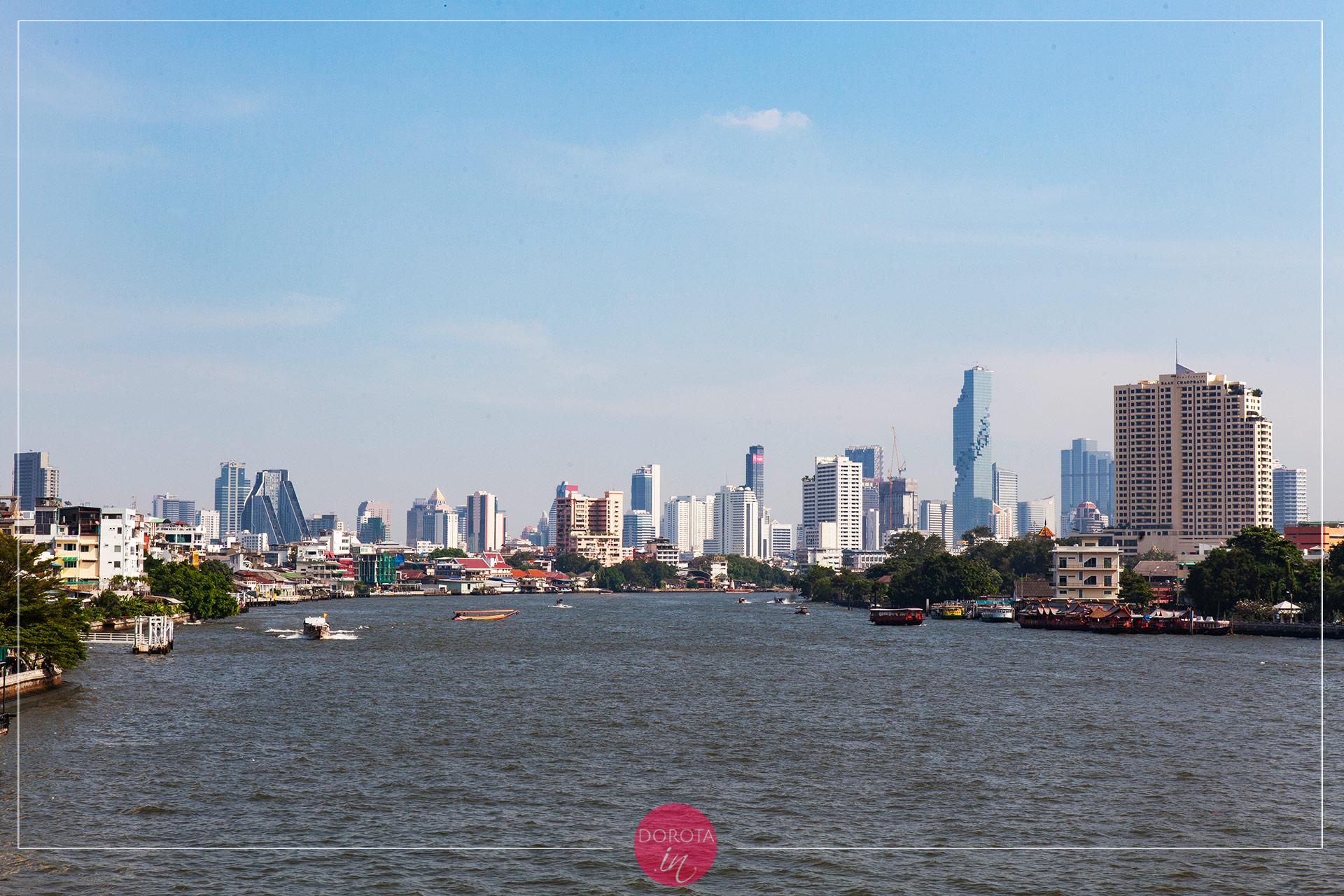 Bangkok - panorama miasta