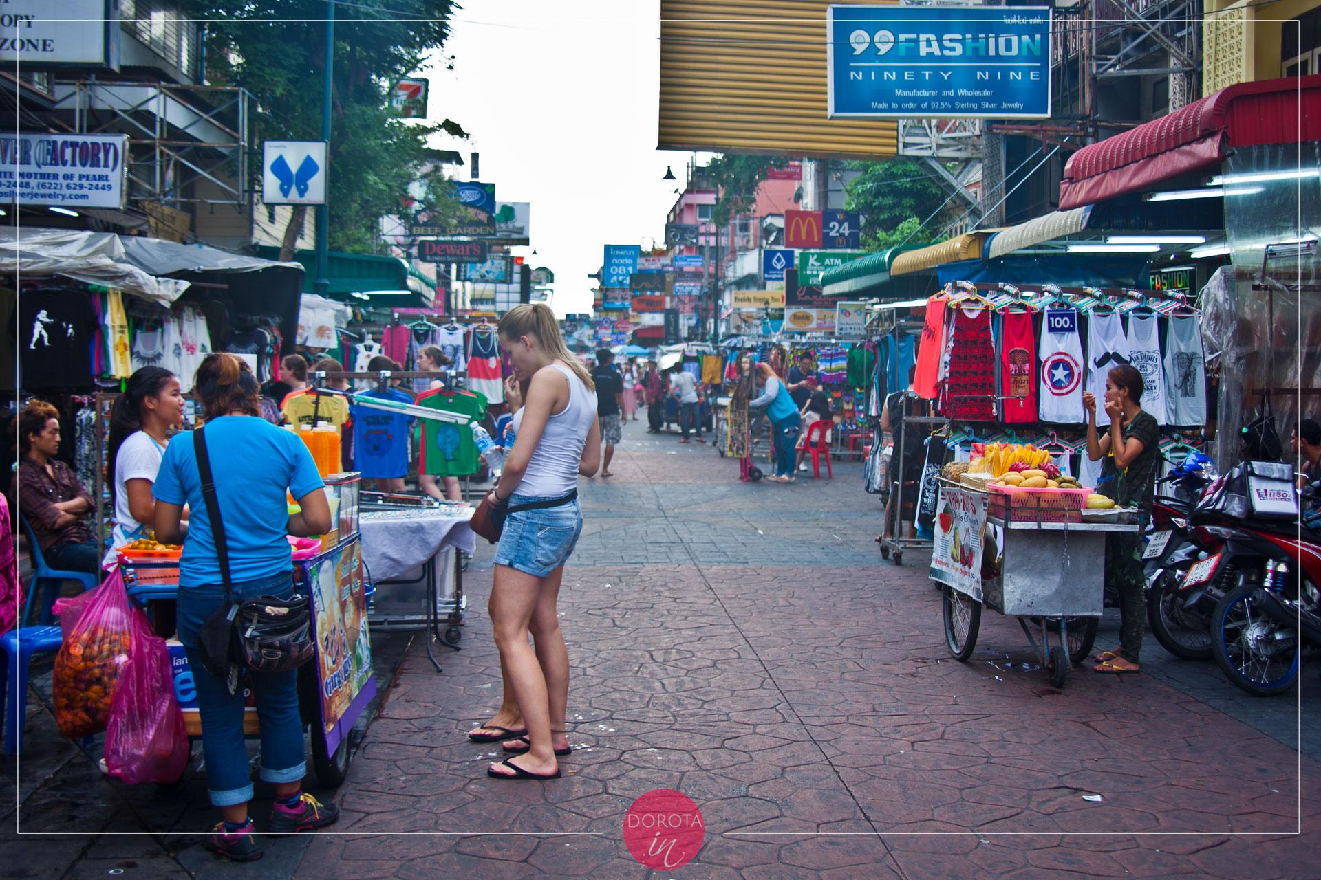 Khao San Road - za dnia