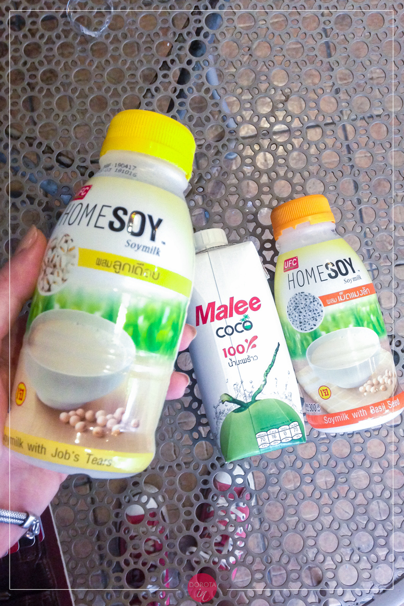 Mleka sojowe i naturalna woda kokosowa, tutaj najlepsze!