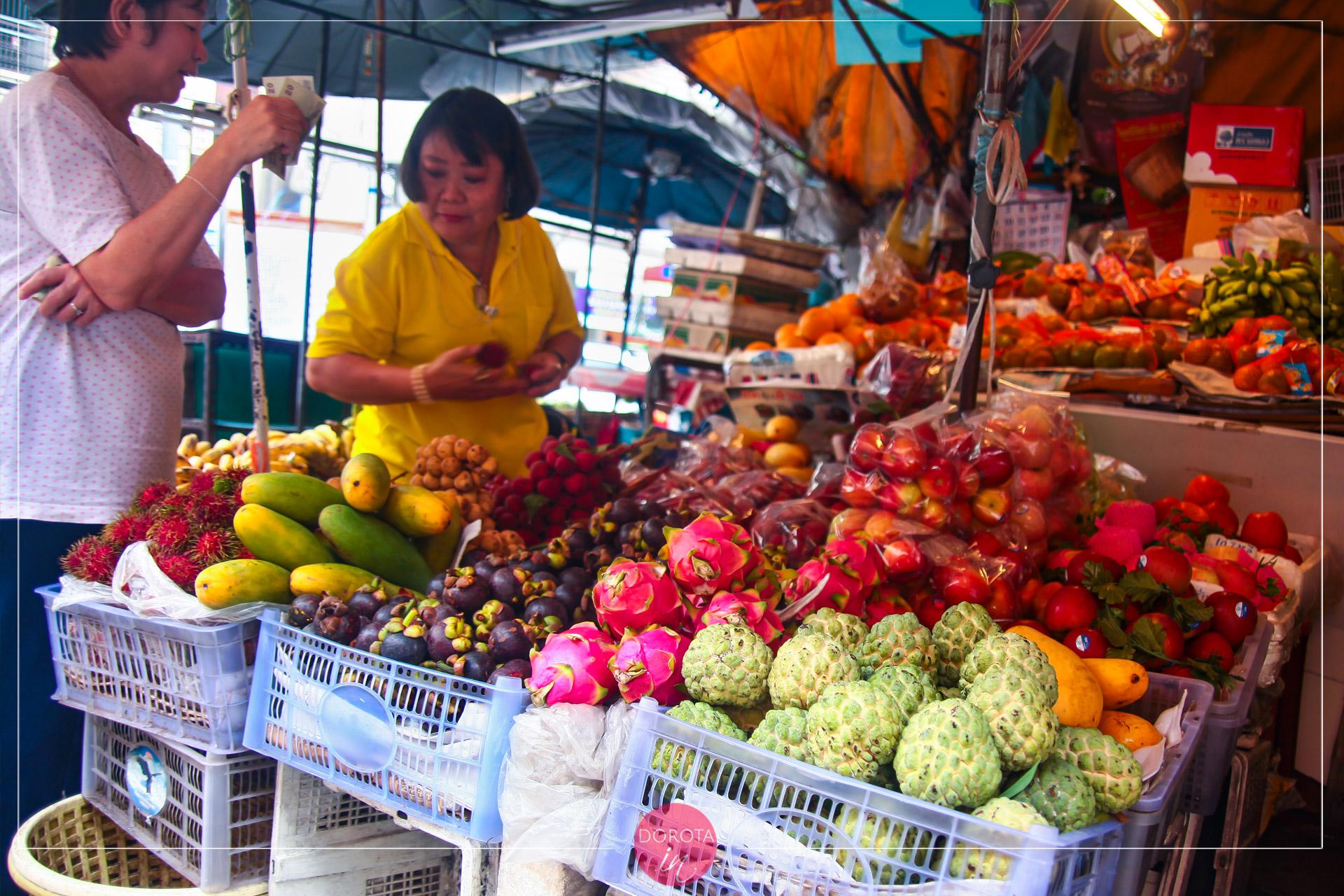 Kuchnia tajska - owoce egzotyczne