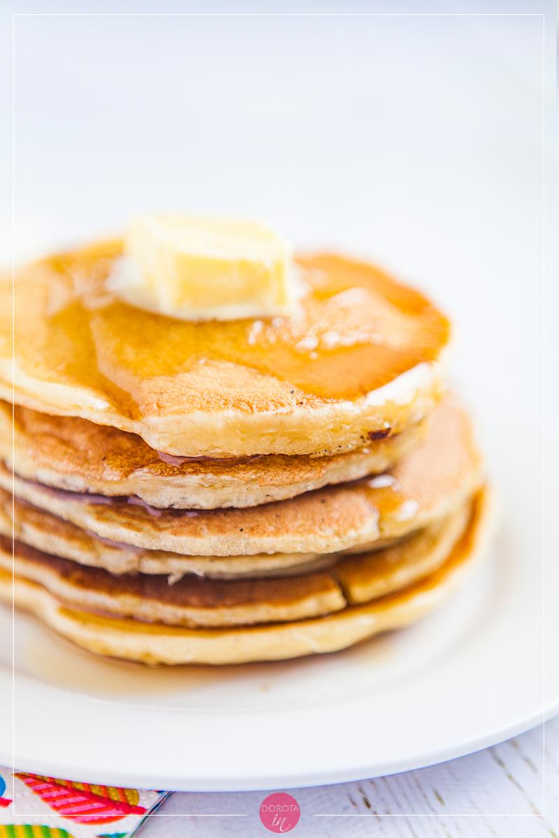 Naleśniki amerykańskie pancakes