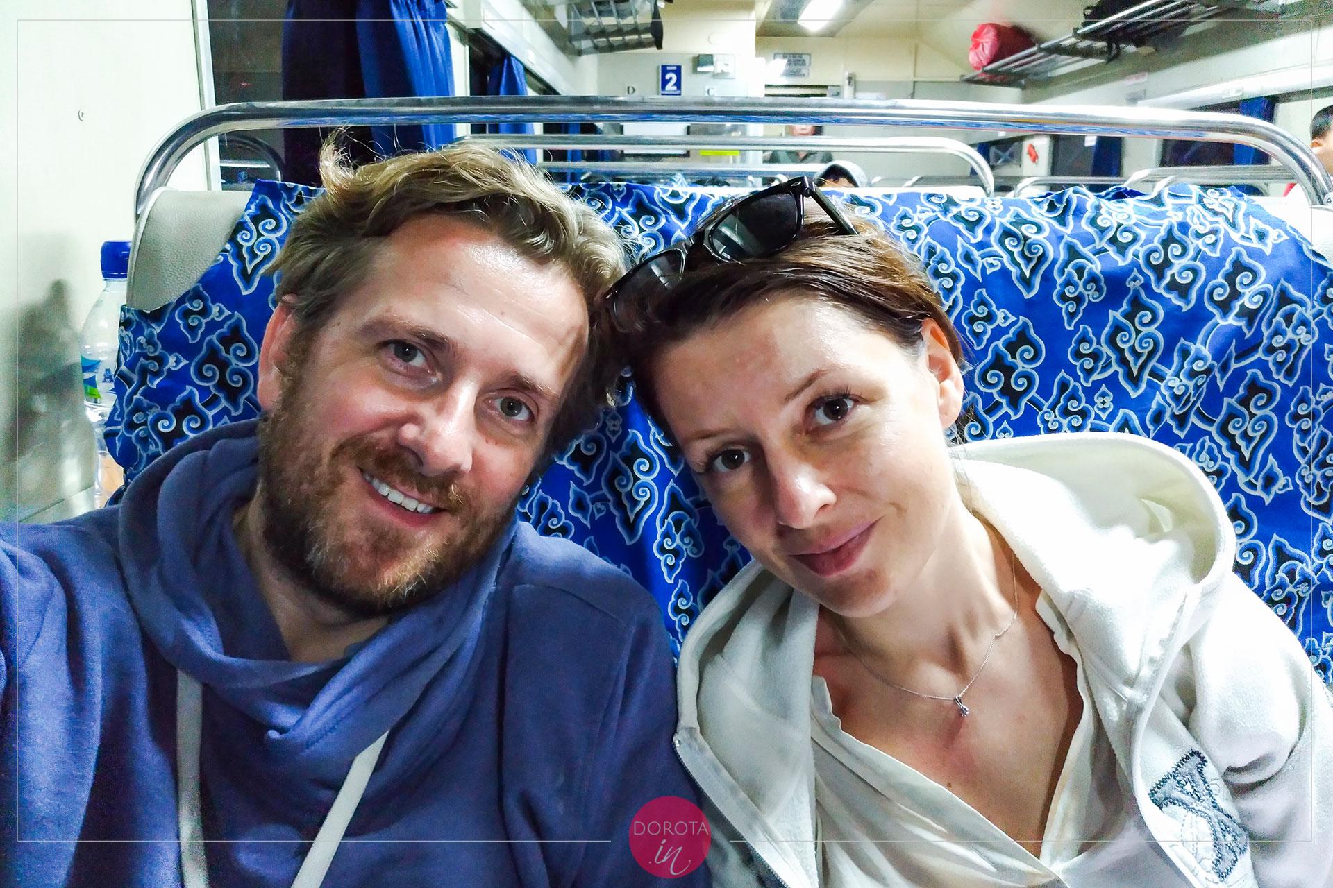Pociąg z Surabaya do Probolinggo