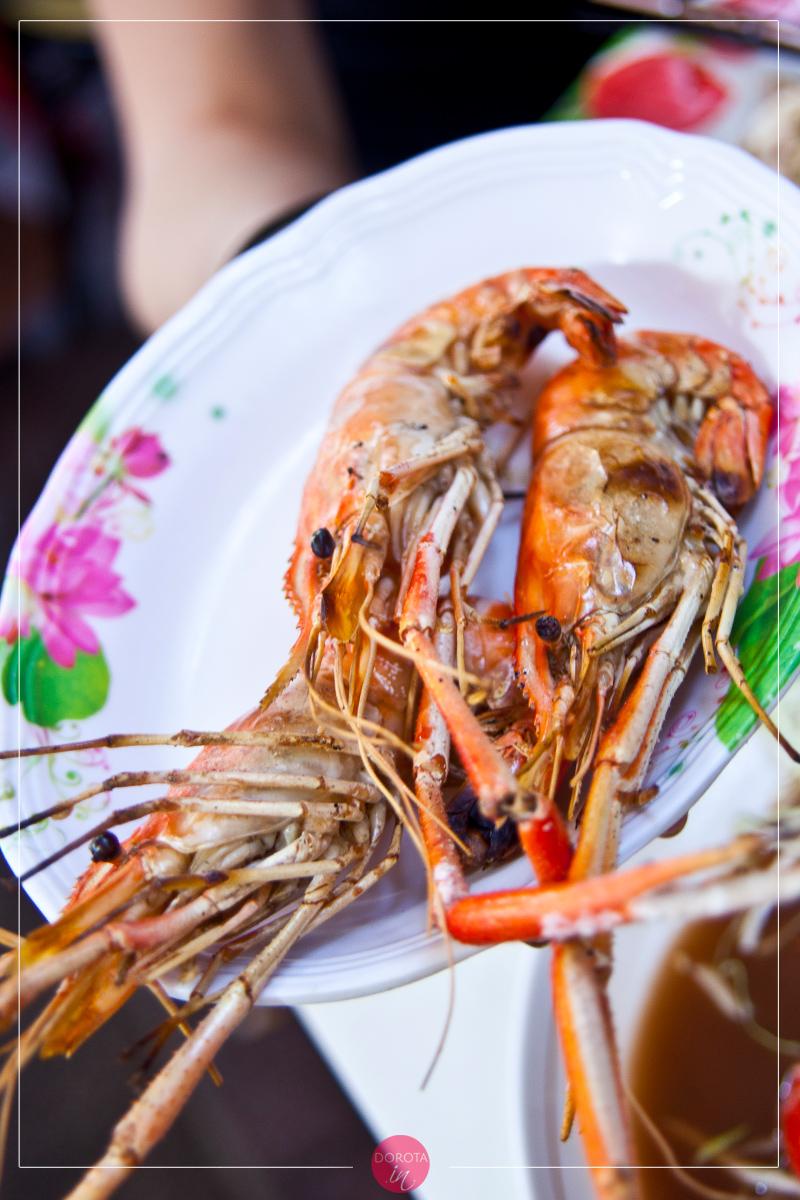 Smażone homarce