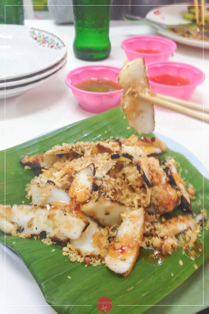 Smażone kalmary po tajsku