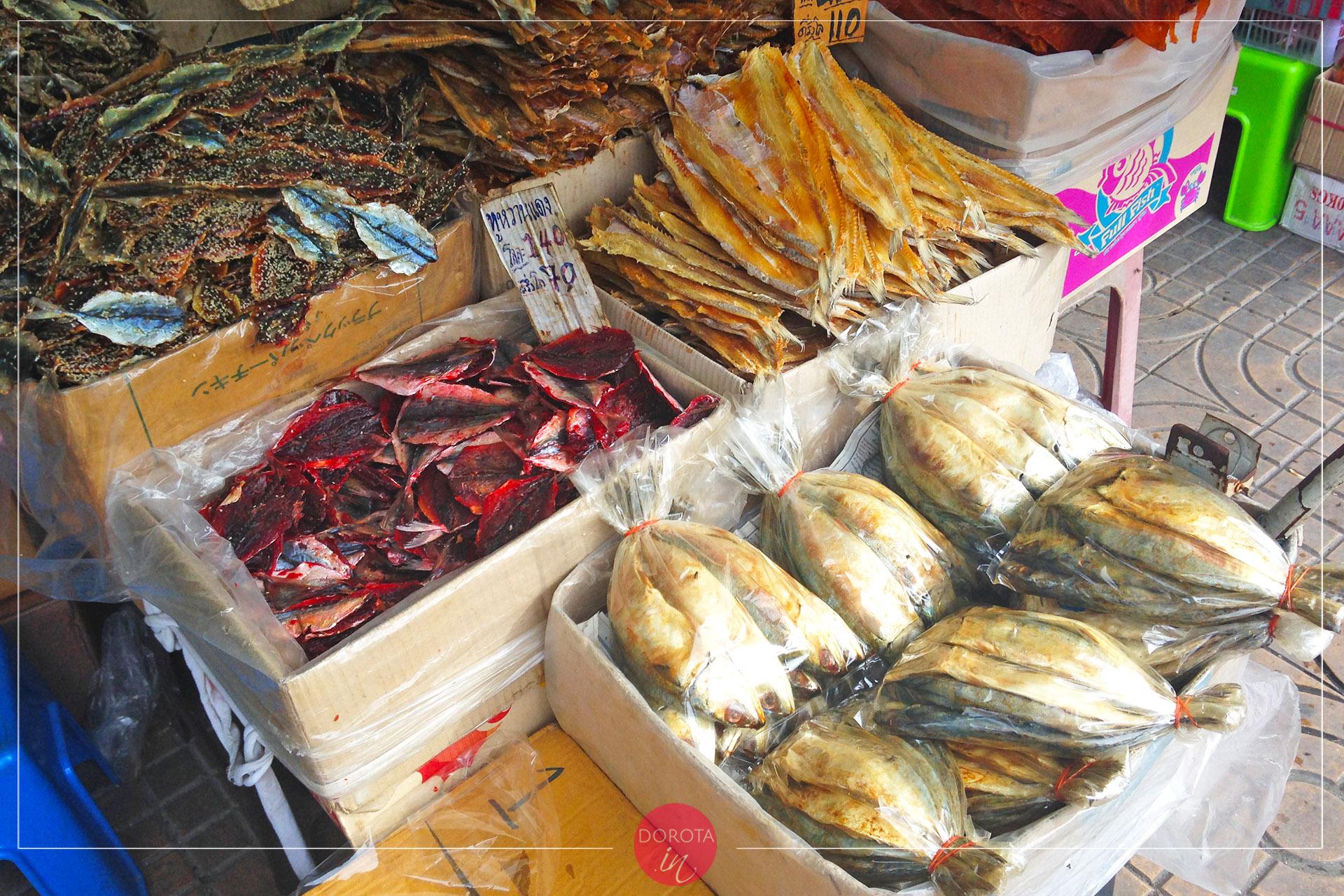 Suszone ryby i owoce morza - do przyprawiania